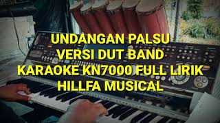 Download lagu Karaoke Undangan Palsu Versi Dut Band kn7000||Hillfa Musical
