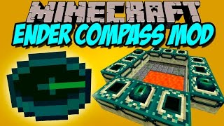 ENDER COMPASS MOD - Forma facil de llegar al END!- Minecraft mod 1.7.10, 1.8, 1.8.9 y 1.9 Review