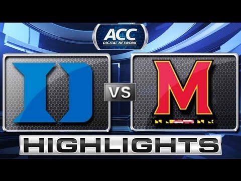 Duke vs Maryland Basketball Highlights 2/16/13
