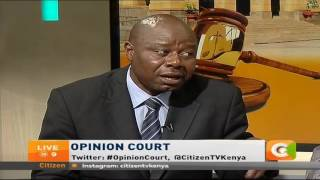 Opinion Court discussion on CORD's Threat to leave IEBC talks