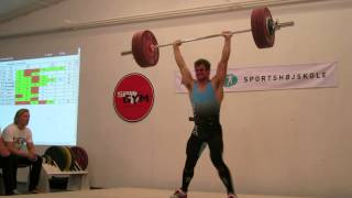 chris gejl gregersen   dm hold 2014   140 kg clean and jerk