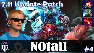 N0tail - Storm Spirit MID | 7.11 Update Patch | Dota 2 Pro MMR Gameplay #4