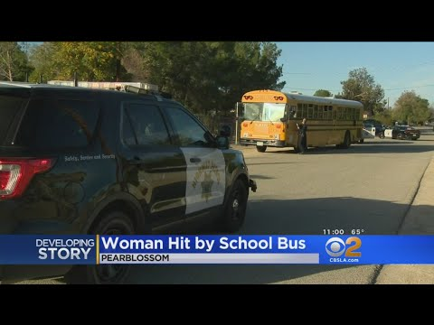 Woman Struck By Bus In Antelope Valley