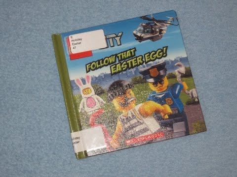 Lego City - Follow That Easter Egg Children's Read Aloud Story Book For Kids