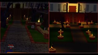 I built the SMO RP HAUNTED MANSION! In bloxburg! (Roblox)