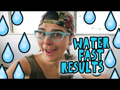 Results of My 7 Day Waterfast || Did I cure my Allergies??