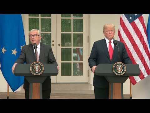Breaking News - WATCH: President Trump Makes Statement From White House Rose Garden