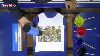 Hướng Dẫn In Áo Thun, Dạy nghề in áo thun   In Lụa Nhiều Màu Lên Áo Thun, Áo Phông: Phần 7