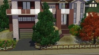 The sims 3 - house design - Oak Chestnut