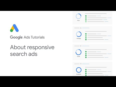 Google Ads Tutorials: About responsive search ads