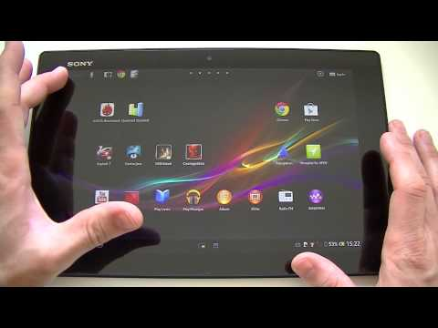 Test De La Sony Xperia Tablet Z | Par Top-For-Phone.fr