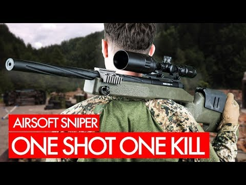 One Shot One Kill - Airsoft Sniper Gameplay