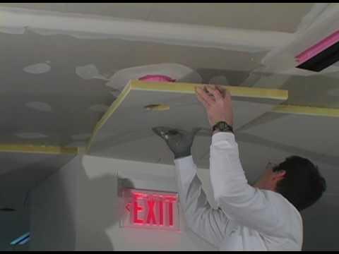Installing Baswa Phon Acoustical Plaster System Youtube