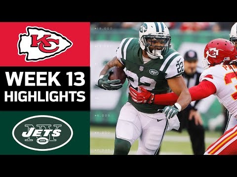 Chiefs vs. Jets | NFL Week 13 Game Highlights