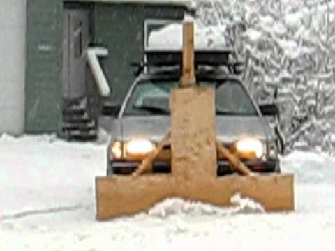 subaru snow plow YouTube