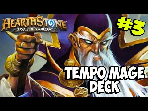 Hearthstone ITA Ep.3 : TEMPO MAGE DECK GAMEPLAY w/Antonidas