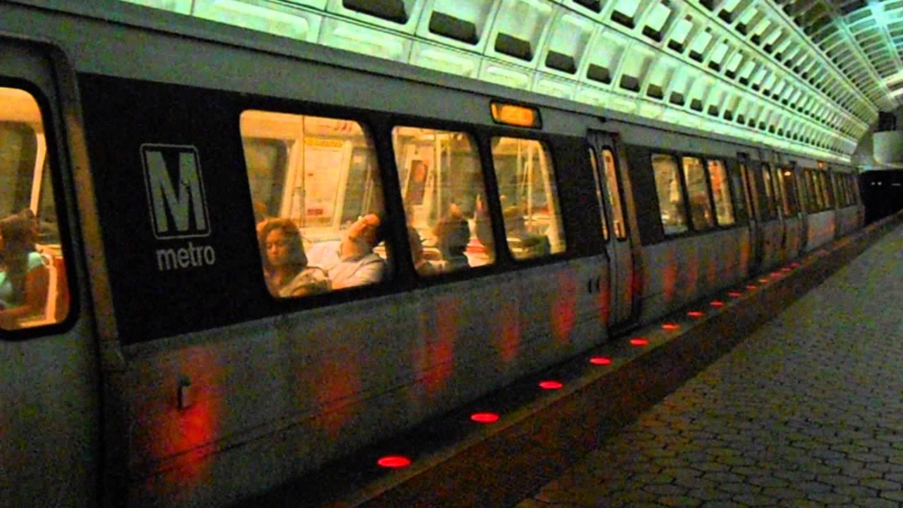 Dc metro wmata rush yellow line to greenbelt at u for Furniture u street dc
