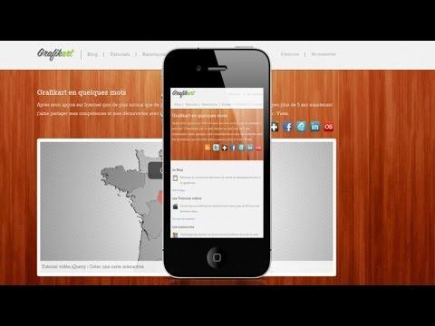 Tutoriel HTML/CSS - Design ''Responsive''