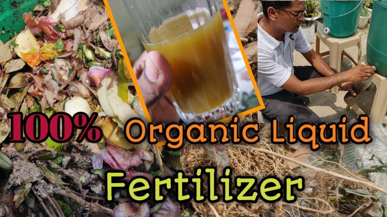 Download Organic liquid Fertilizer From Waste Decomposer | Waste Decomposer Preparation