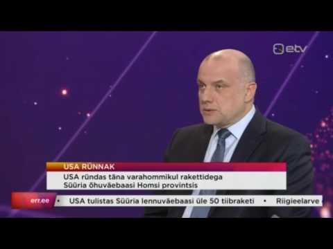 Jüri Luik AK-s: USA ei rikkunud Süüria valitsusvägesid rünnates rahvusvahelist õigust