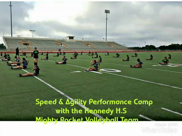 First Step Athletics speed and agility performance training camp