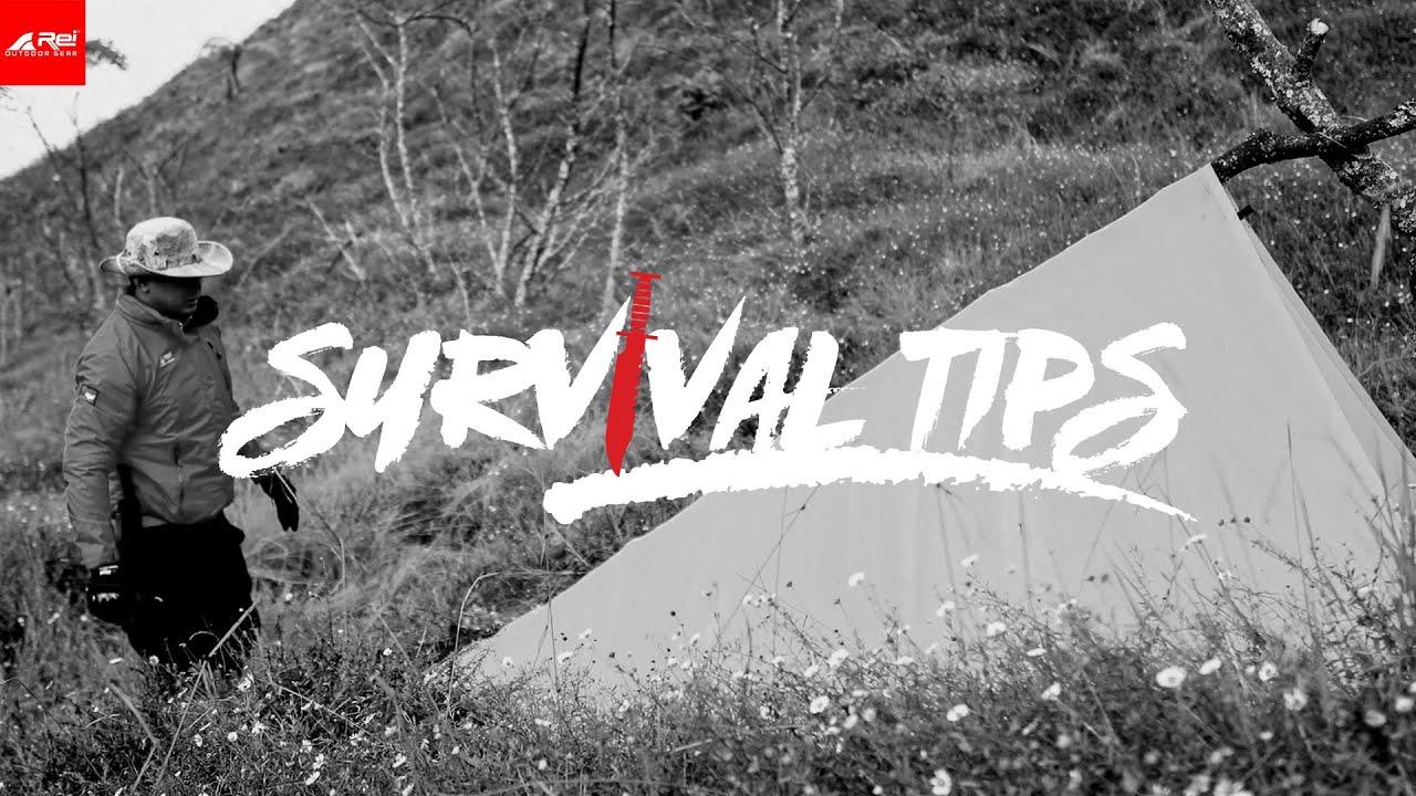 SURVIVAL TIPS - Membuat Bivak di Sabana