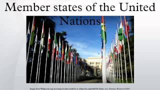 Member states of the United Nations