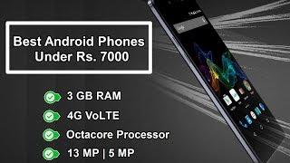 Best Smartphones under Rs  7000 [ New Updated ]