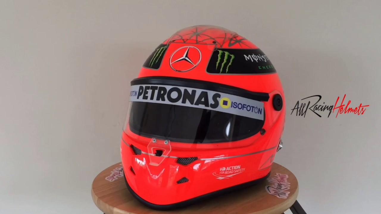 Michael Schumacher 2012 Farewell F1 Replica Helmet Scale 1 1 All Racing Helmets