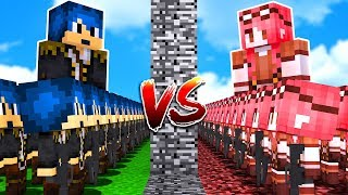 Minecraft ITA - TEAM STEF VS TEAM PHERE