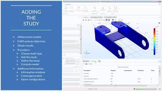 How to Add a Study to Your Simulation in COMSOL Multiphysics®