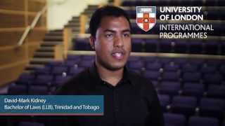Alumni Inspiration: David-Mark Kidney, LLB, Trinidad and Tobago