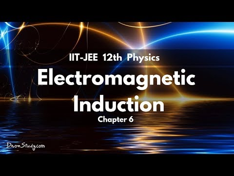 Electro Magnetic Induction for IIT-JEE Physics | IIT CLASS 12 XII | Video Lecture in Hindi