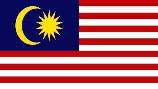 Bandera e Himno Nacional de Malasia - Flag and National Anthem of Malaysia