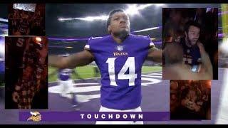 Vikings Vs Saints Game Winning Touchdown - Live Reaction