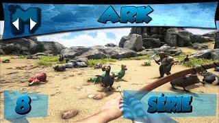 ARK COOP #8 - AGORA SIM MONTARIA! E PROCURA DO LAR NOVO :D / SÉRIE 1080p PT-BR
