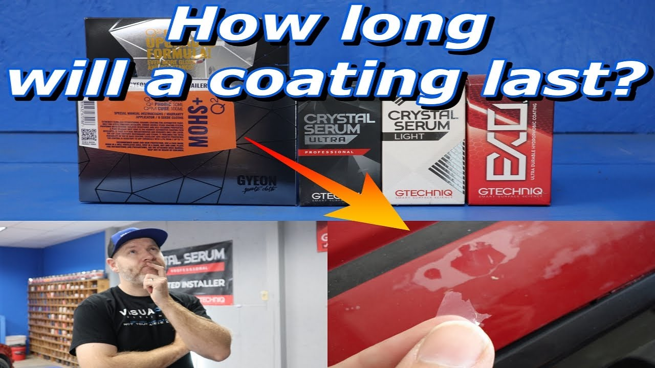 How long will a Ceramic Coating last? There are lots of answers, let's boil it down simply.