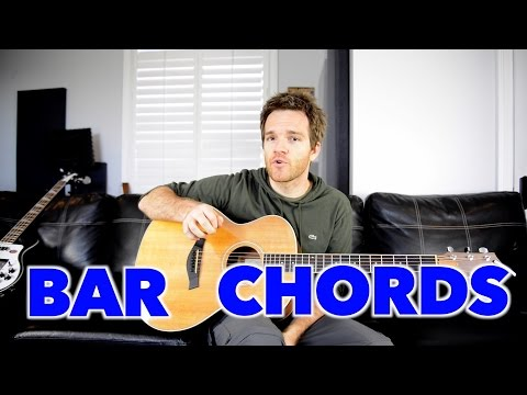 How to Get Better at Bar Chords