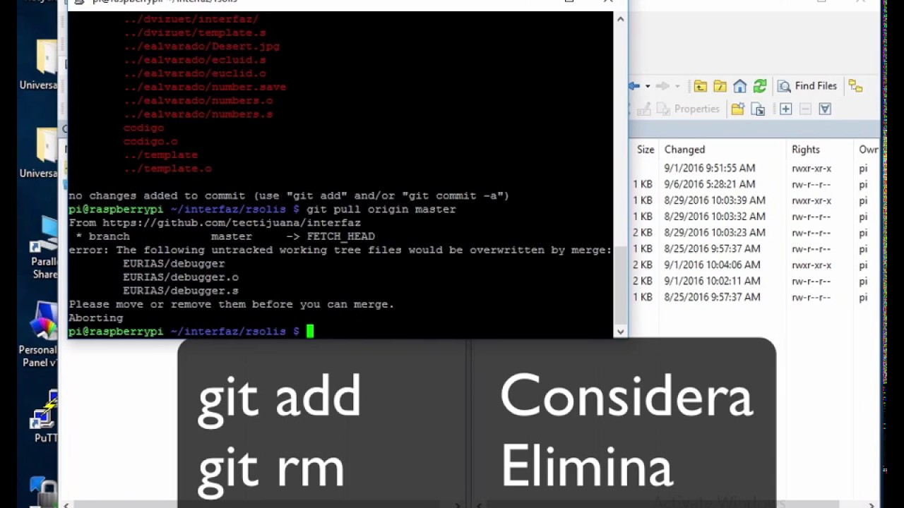 Putty WinSCP Sublime GitHub on Windows10 with RaspberryPi QEMU for ARM  Assembly