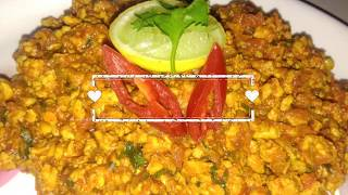 Quick & easy process of chicken keema (ckn mince)recipes | step by step method | spicy & testy