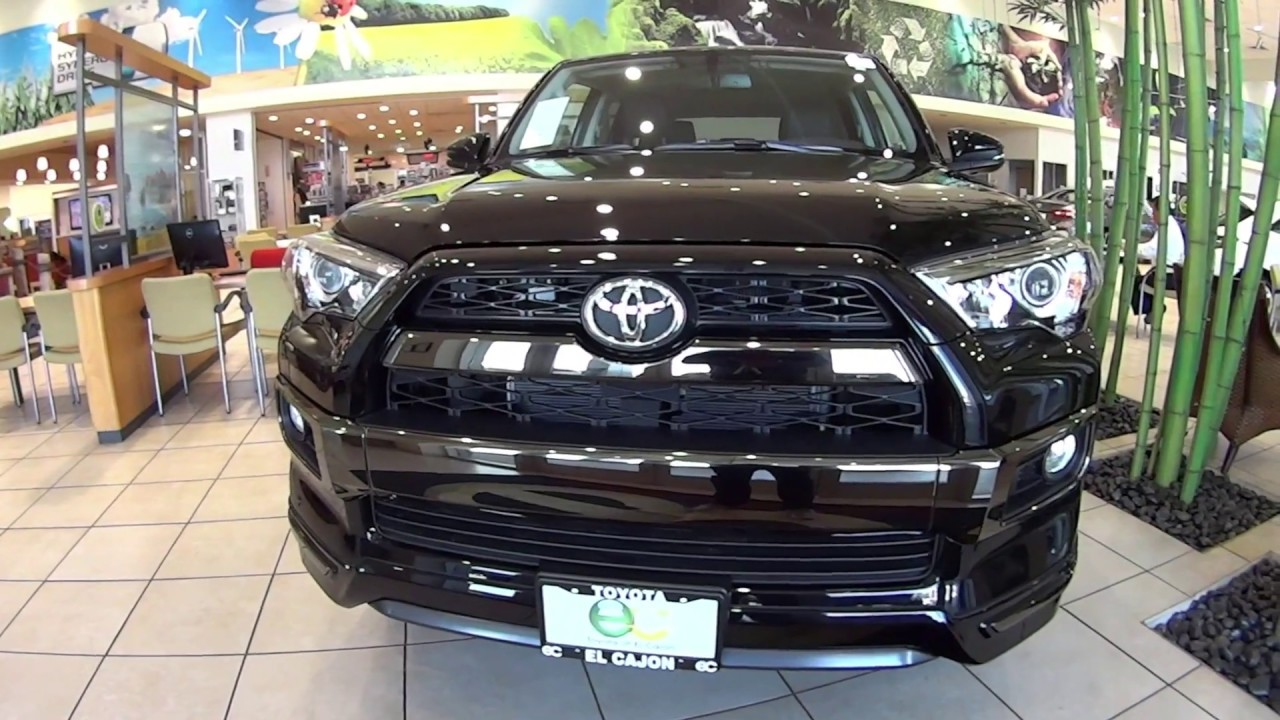 2019 Toyota 4runner Nightshade Edition Youtube