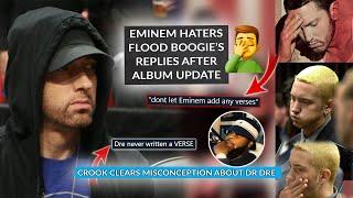 Eminem Critics Flood Westside Boogie's Album Update Post, Kxng Crook Clears Mix-Up About Dre