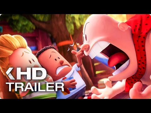 CAPTAIN UNDERPANTS: The First Epic Movie NEW Clip & Trailer (2017)