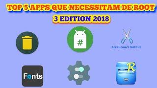 #3 TOP 5 APPS QUE NECESSITAM DE ROOT 2018
