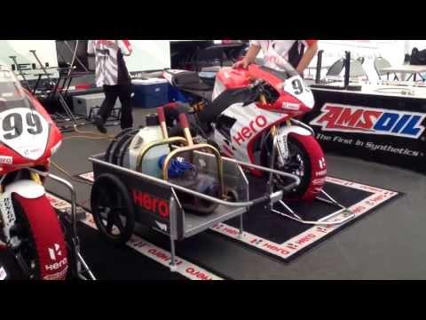 EBR 1190RS On Track Laguna Seca AMA Pro Superbike Warmup & Practice