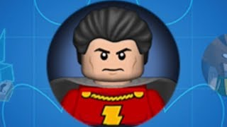 LEGO Batman 2: DC Super Heroes (PS Vita/3DS) Shazam Gameplay