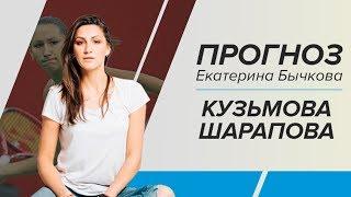 Прогноз и ставка на матч Кузьмова - Шарапова