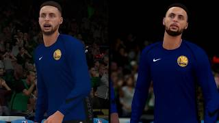 NBA 2K18 - Switch Vs. PS4 - Visual Comparison Video (Direct-Feed Gameplay)
