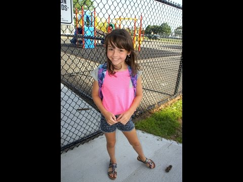 Mikayla's 1st Day - Back To School 4th Grade - YouTube