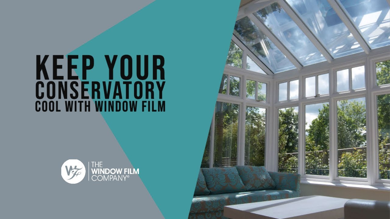 Conservatory Roof Heat Reduction Film Installation Youtube